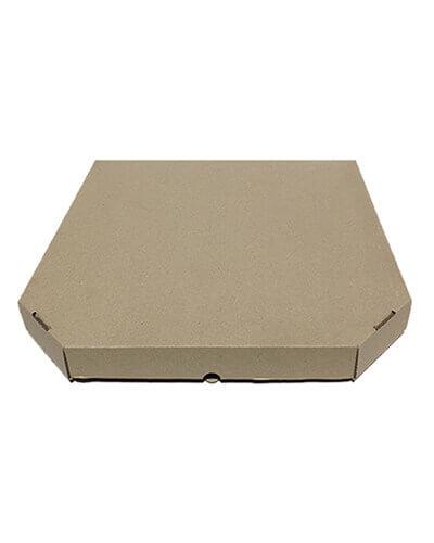 Бурая коробка для пиццы 50 см