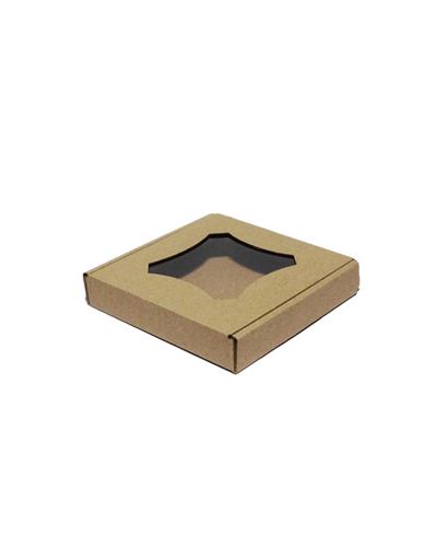 Купить коробку для пряников бурая