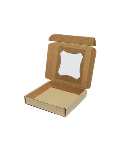 Бурая коробка для пряника