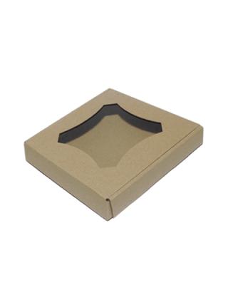 Упаковка для пряников бурая