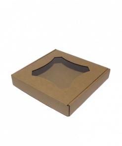 Крафтовая коробка для пряников